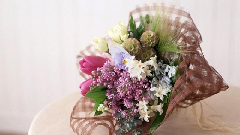 Types of flower packaging