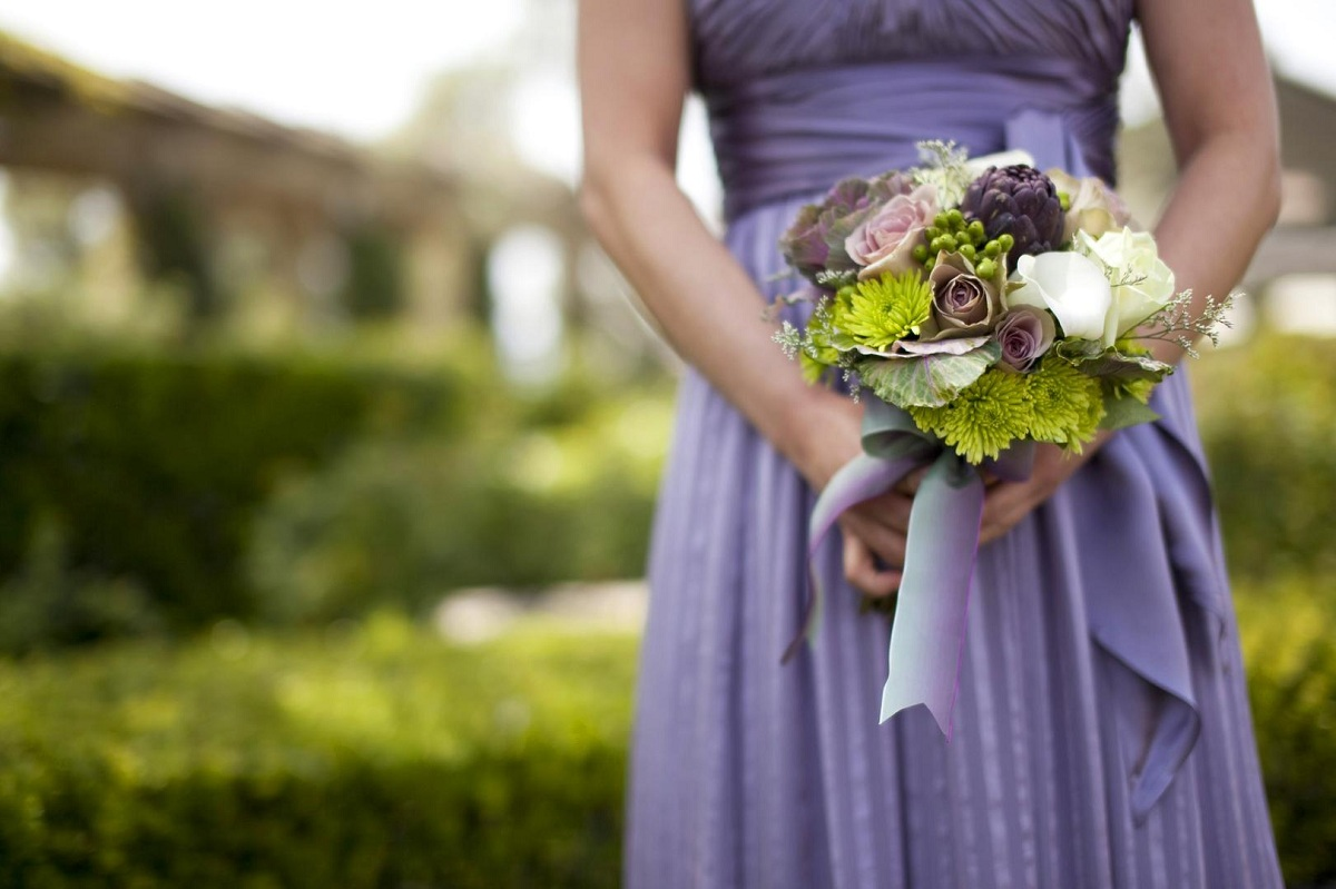 What flowers to choose for a bridesmaid?