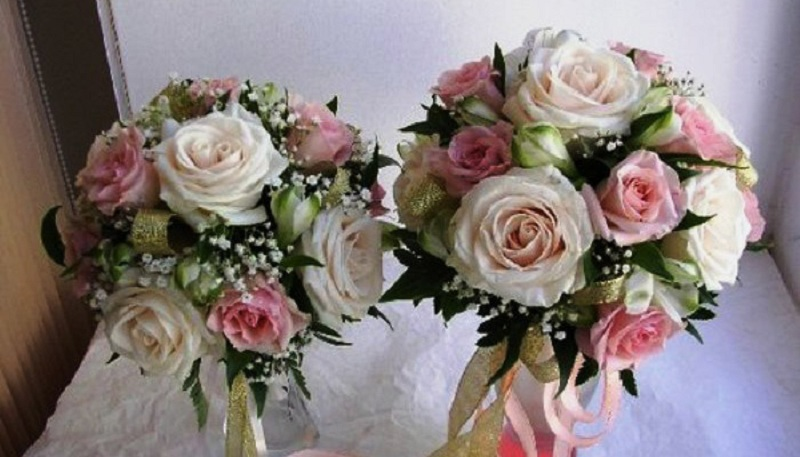 Bridal Bouquet From Artificial Flowers
