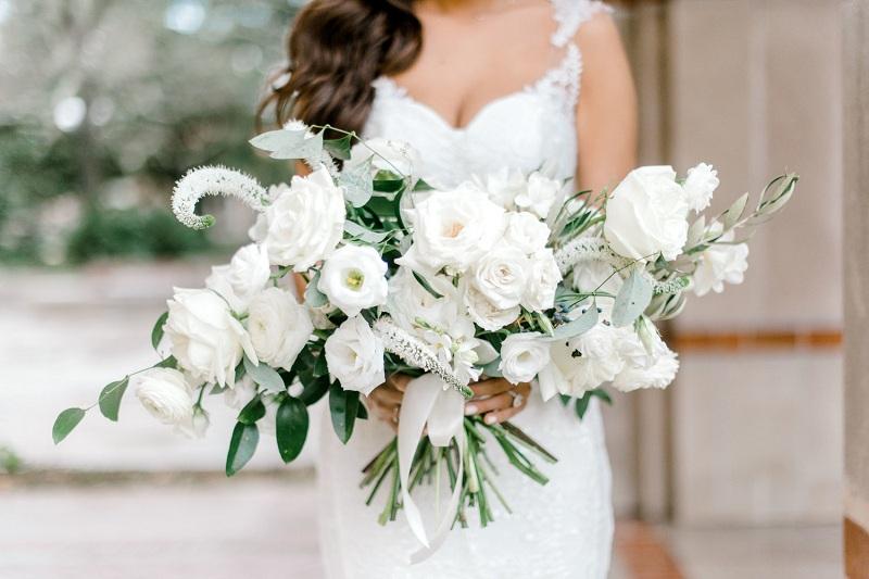 Wedding Bouquet Of Freesia